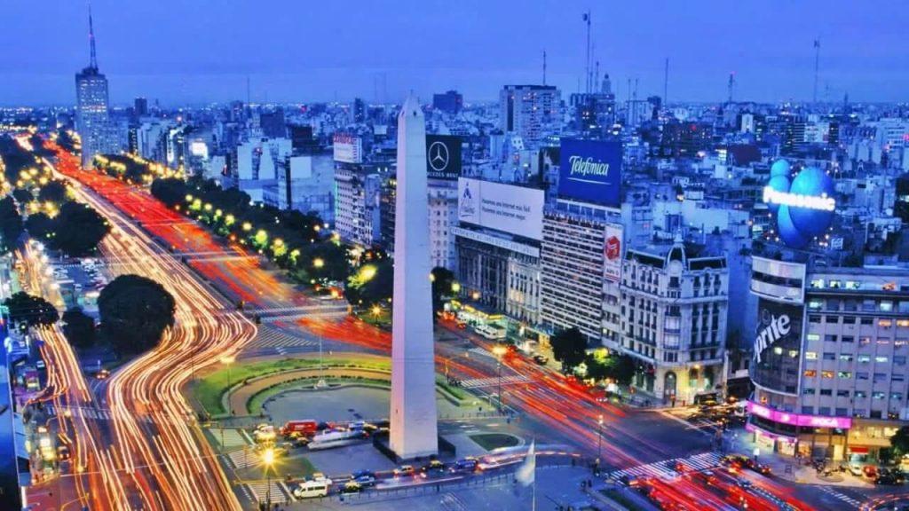 Ciudad de Buenos Aires de noche